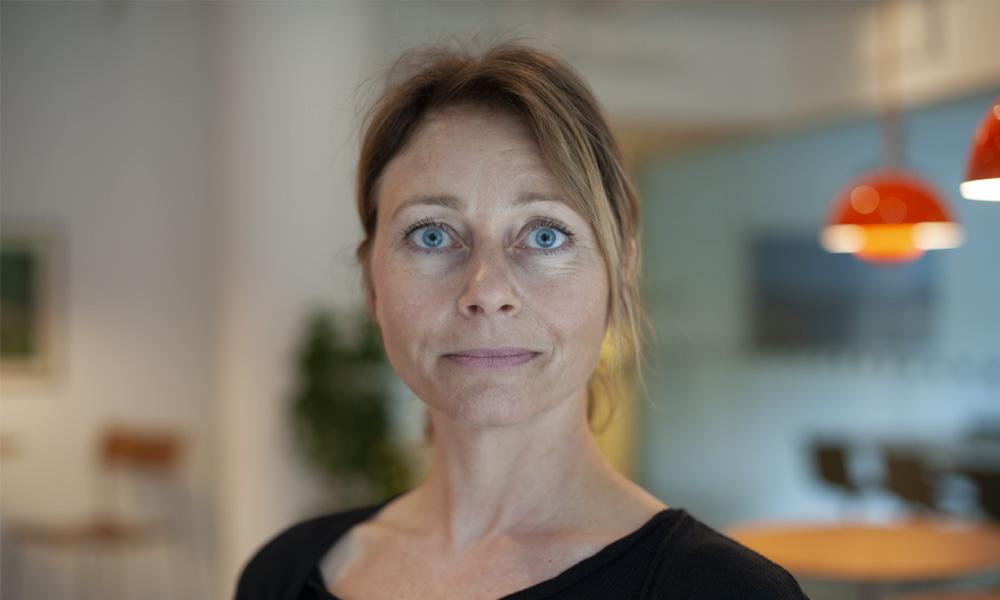 Maria Morberg, arbetsmiljöexpert på Almega