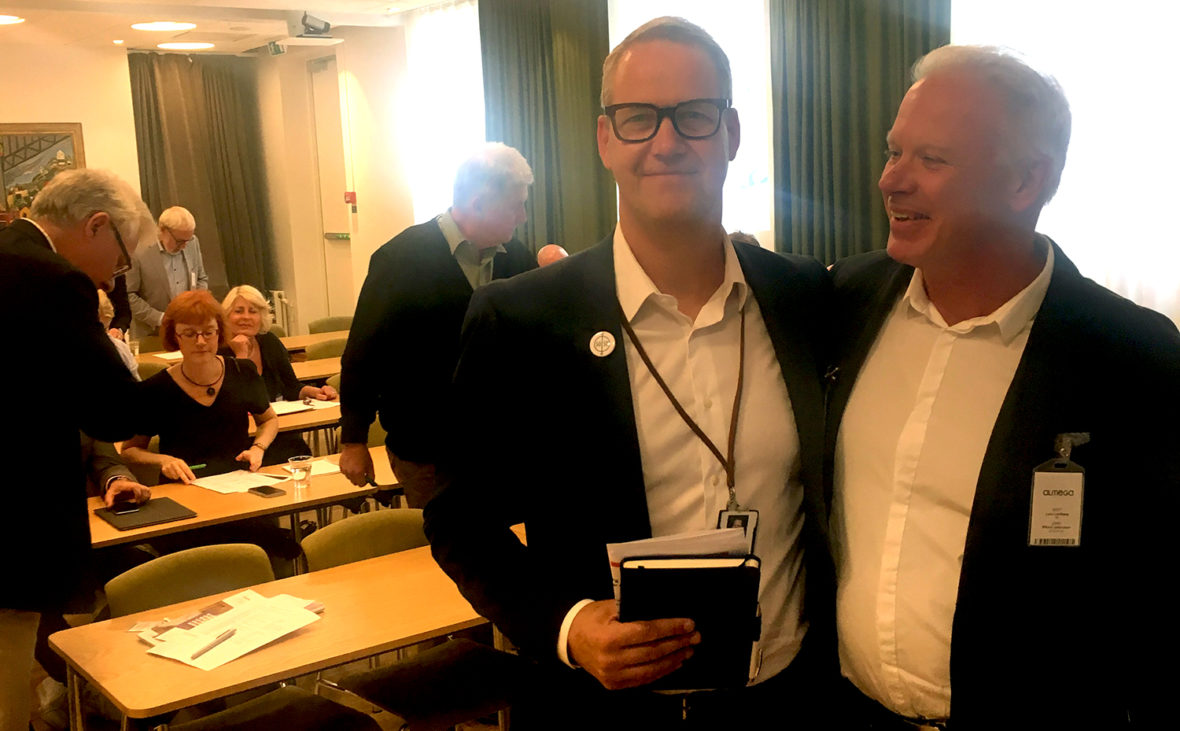 Rikard Johansson Vårdföretagarna och Lars Lundberg IT&Telekomföretagen