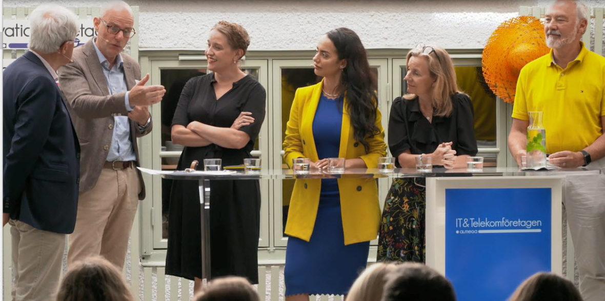 IT&Telekomföretagen i Almedalen 2019