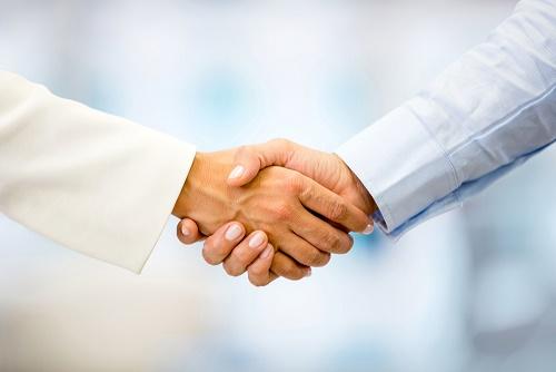 handslag mindre