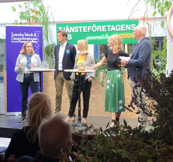 Kommunikationsrådet på Almedalen 2018.