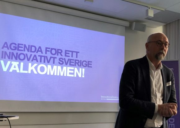 Magnus Höij, förbundsdirektör Innovationsföretagen.