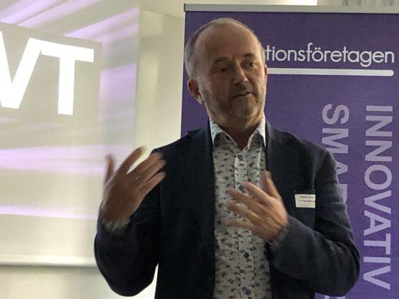Anders Persson, näringspolitisk chef, Innovationsföretagen.