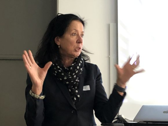 Lotta Olsson (M), riksdagsledamot, medlem i näringsutskottet.